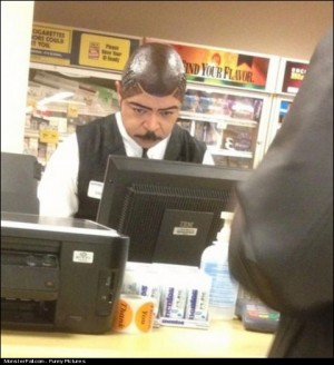 Monster Hairstyle FAIL