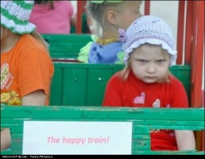 The Happy Train FAIL I Think Working