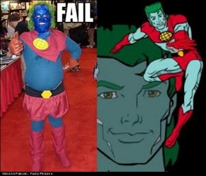 Captain Planet FAIL