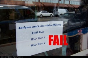 Store Sign FAIL