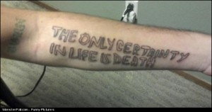 Monster Tattoo FAIL And That This Will Be On You Forever Good Luck With That