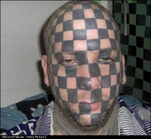 Facial Tattoo FAIL