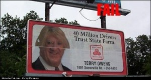 Billboard FAIL