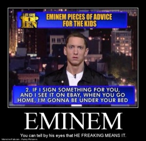 Eminem Setting It Straight