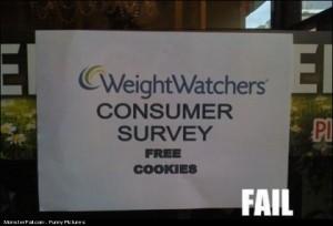 Diet Sign FAIL
