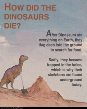 Dinosaurs Story FAIL