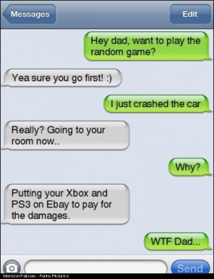 Hey Dad Want To Play The Random Game