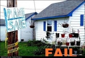 Plant Sale FAIL
