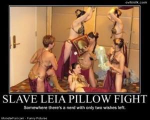 Pics Slave Leia Pillow
