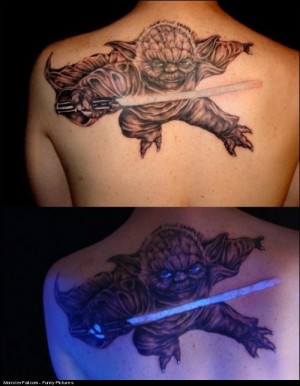 Most Awesome Yoda Tattoo EVER