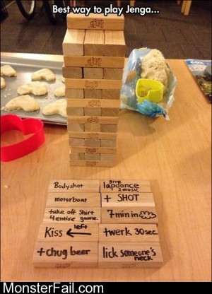 Best Way To Play Jenga