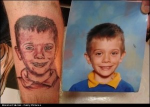 Tattoo FAIL A Portrait of My Kid But More