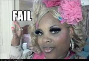 Eyelashes FAIL