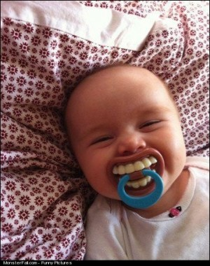 Parenting FAIL This Is Why Babies Have Teeth