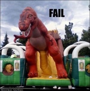 Play Equipment Fail