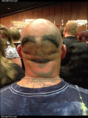 2nd face tattoo