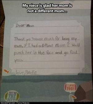 Pics Dear Mom