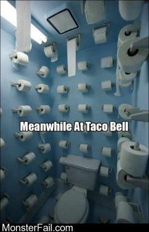 Meanwhile At Taco Bell