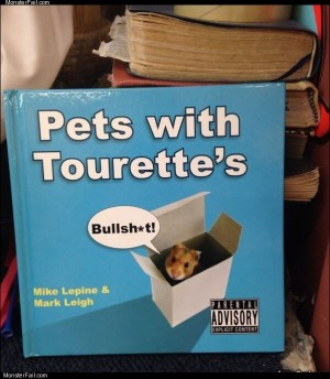Pets with tourettes