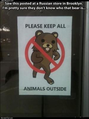 Animals outside