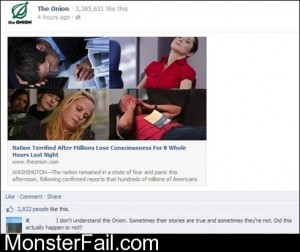 Monster FAIL