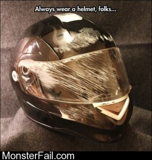 Always Wear A Helmet