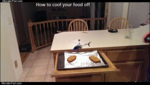 Cooling your food off
