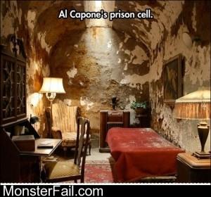Al Capones Prison Cell