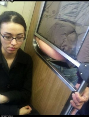 Fun subway ride