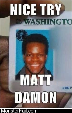 Nice Try Matt