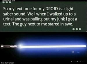 Droid sound