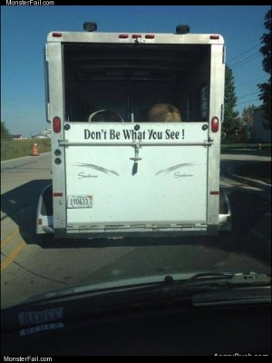 Dont be what you see