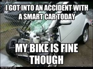 Got into an accident