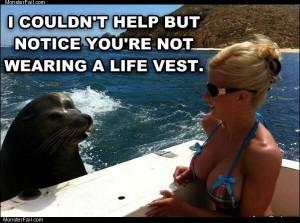 No life vest