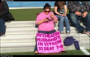 Her cheating husband