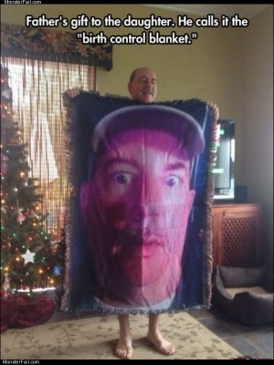 Birth control blanket