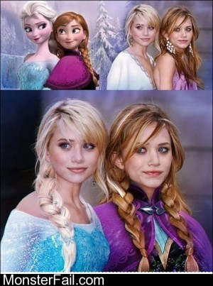 The Frozen Olsen Twins