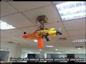 Cool sentry gun
