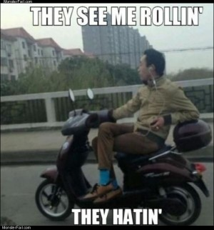 See me rollin