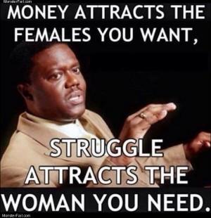 Money and struggles