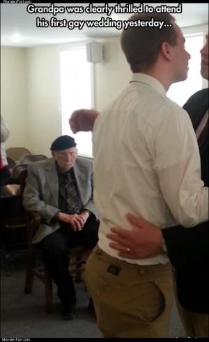 Grandpa was thrilled