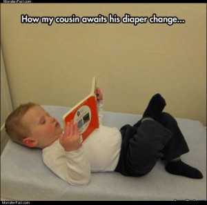 Diaper change time