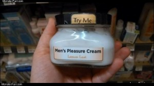 Mens pleasure cream