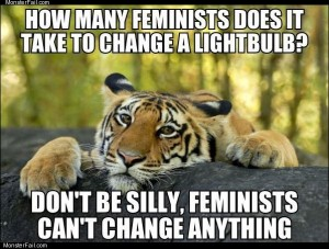 How many feminists