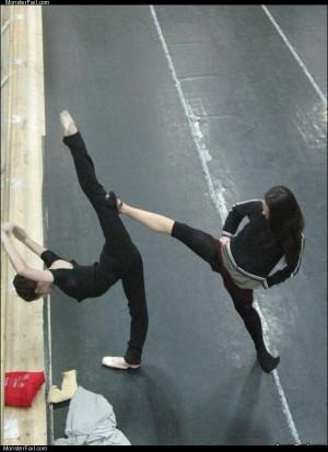 Ninja stretch technique