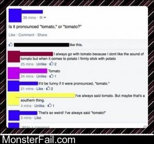 Tomato Or Tomato