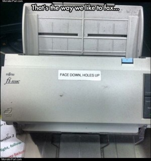 The way i like to fax