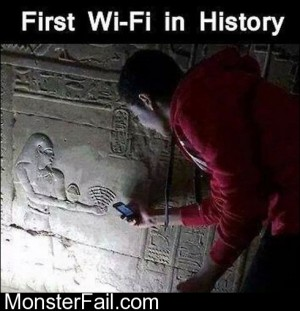 First WiFi In History