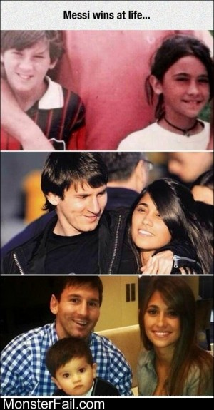Messi Wins At Life