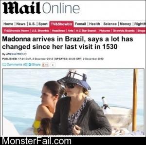 Madonna Arrives In Brazil